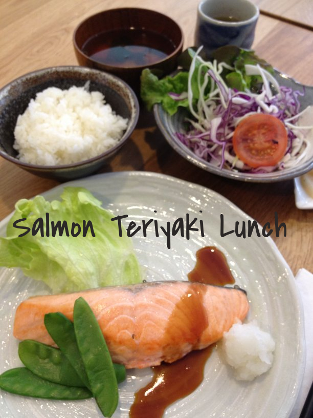 Salmon Teriyaki Lunch