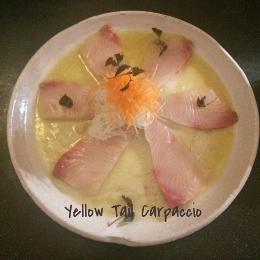 Yellow Tail Carpaccio